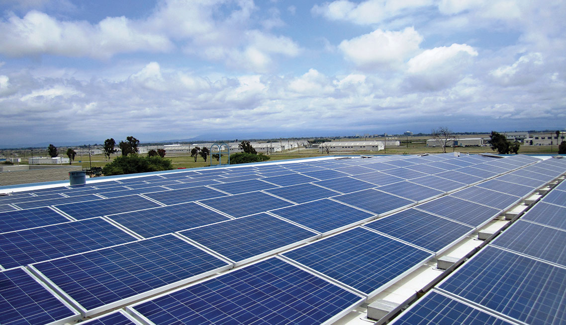 Rooftop Photovoltaic System Design-Build, Marine Corps Reserve Training Center and Vehicle Shed, Seal Beach Naval Weapons Station, Seal Beach, CA
